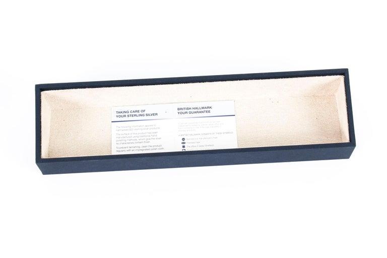 Vintage Sterling Silver Paper Knife Letter Opener Gift, 20th Century For Sale 5