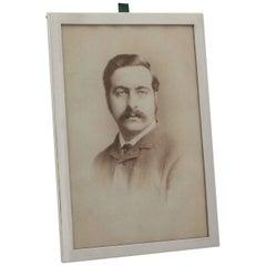 Vintage Sterling Silver Photograph Frame, George VI