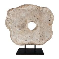 Vintage Stone Element on Mount