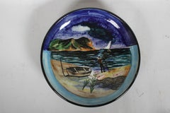 Vintage Stonelain Associated American Artists Ceramic Charger - Nicolai Cikovsky