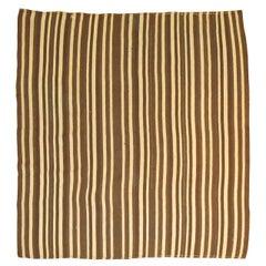 Vintage Striped Kilim