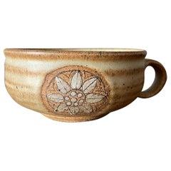Vintage Studio Crafted Ceramic Coffee Cup