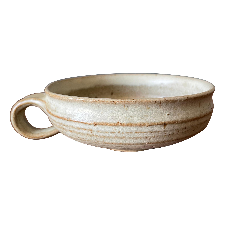 Vintage Studio Crafted Ceramic Coffee Mug circa 1970s