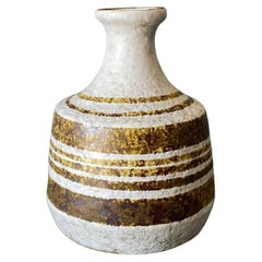 Vintage Studio Crafted Weed Pot Bud Vase, circa 1960s