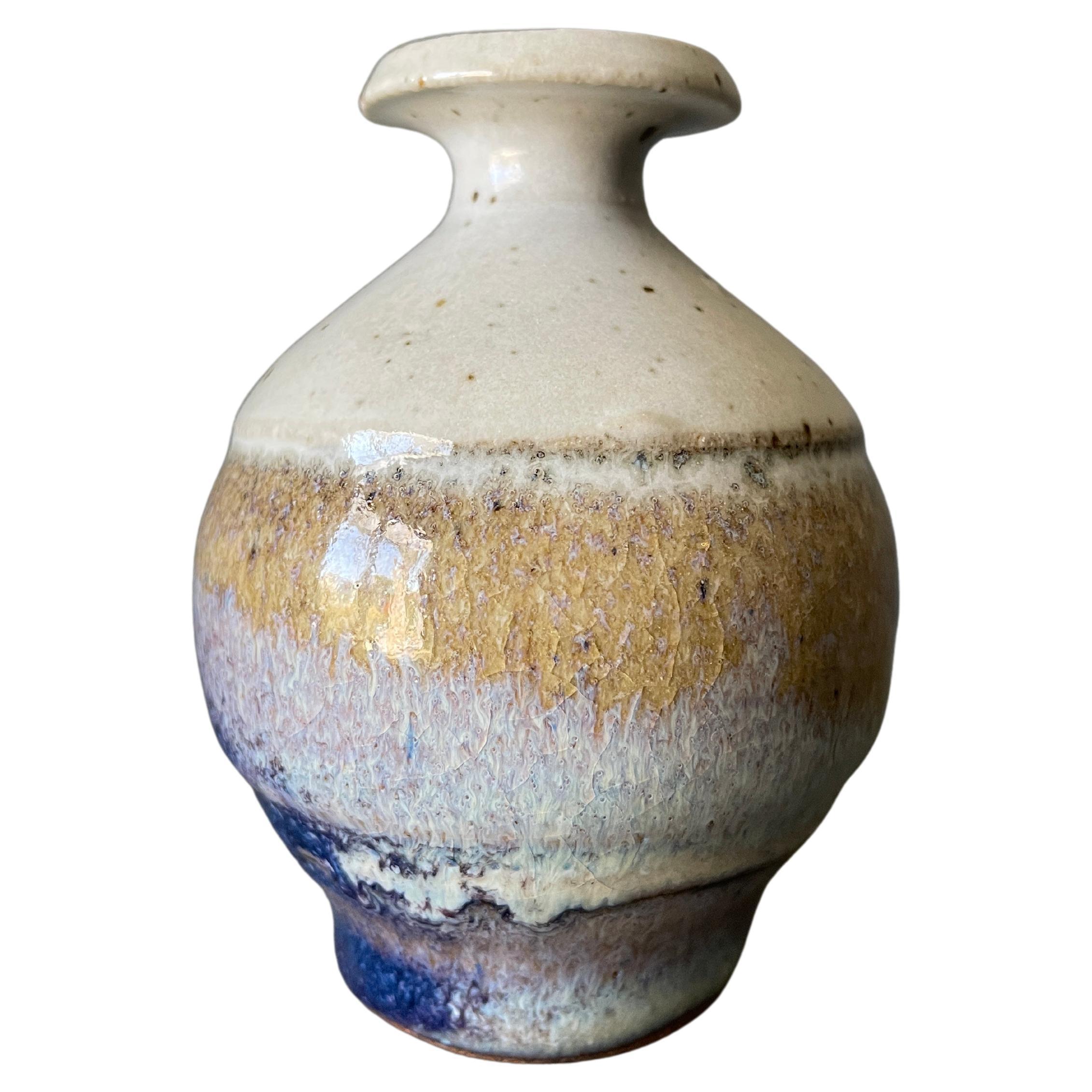 Vintage Studio Crafted Weed Pot Bud Vase circa 1960s