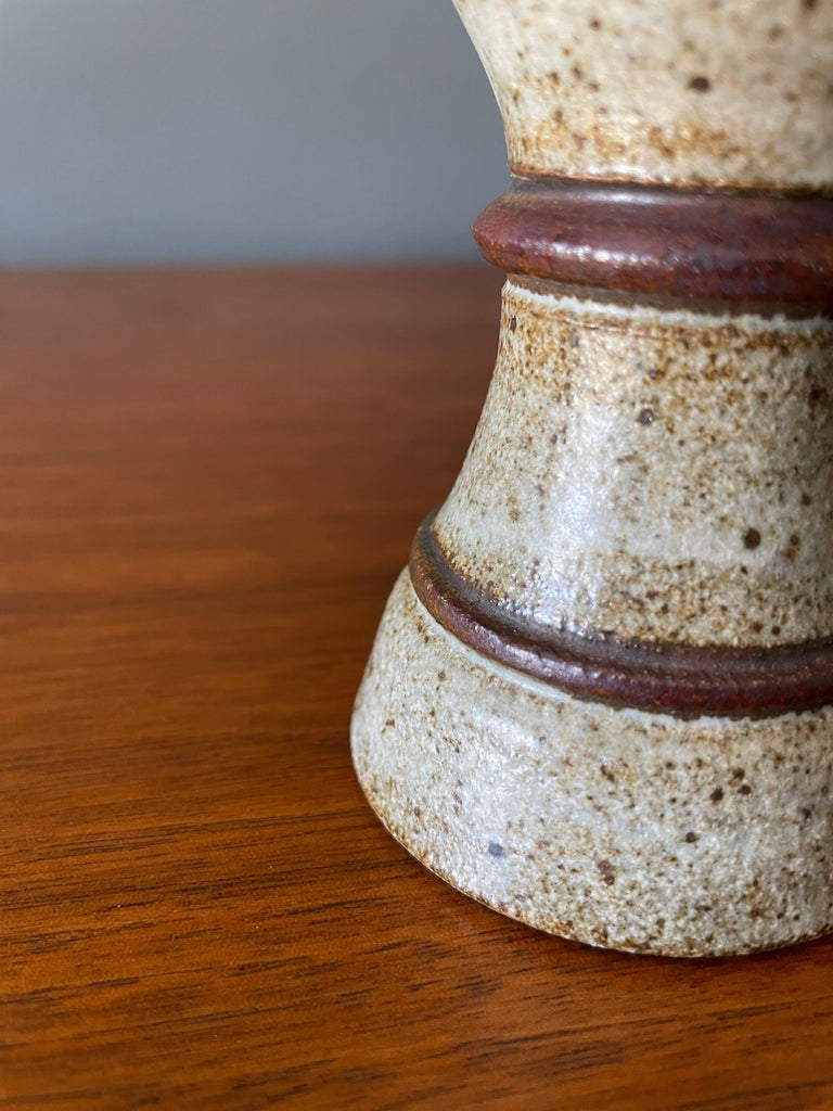American Vintage Studio Crafted Wine Chalice, circa 1970s For Sale