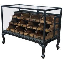 Vintage Style Haberdashery Counter