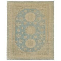Vintage Style Khotan Revival Rug