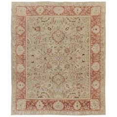 Vintage Style Sultanabad Revival Rug