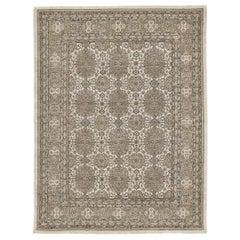 Vintage Style Tabriz Design Rug