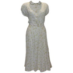 Vintage Summer Cotton Dress by Nelly Don