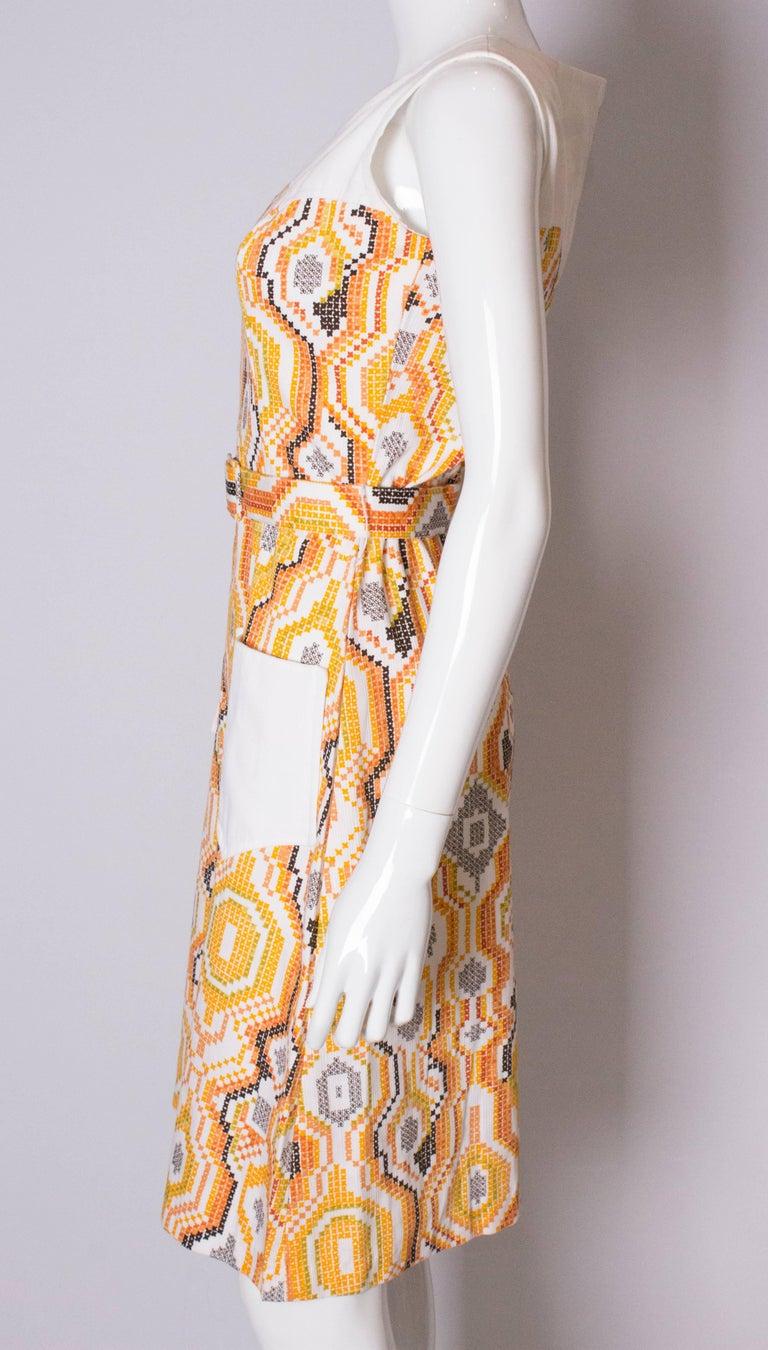 Vintage Summer Dress For Sale 1