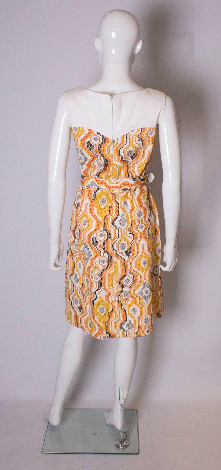 Vintage Summer Dress For Sale 2