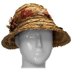 Vintage Summer Straw Hat
