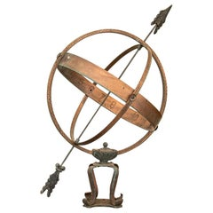Vintage Sun Clock or Armillary from Denmark