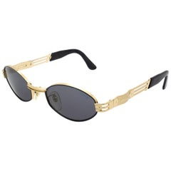 Vintage sunglasses by Lozza, 80s hexagonal sunglasses