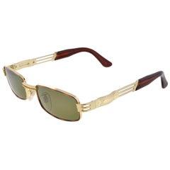 Vintage sunglasses by Lozza, rectangular designer sunglasses 80s