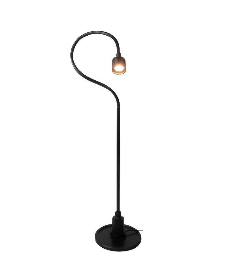 Vintage Sunnex Rubber Gooseneck Floor Lamp For Sale At 1stdibs