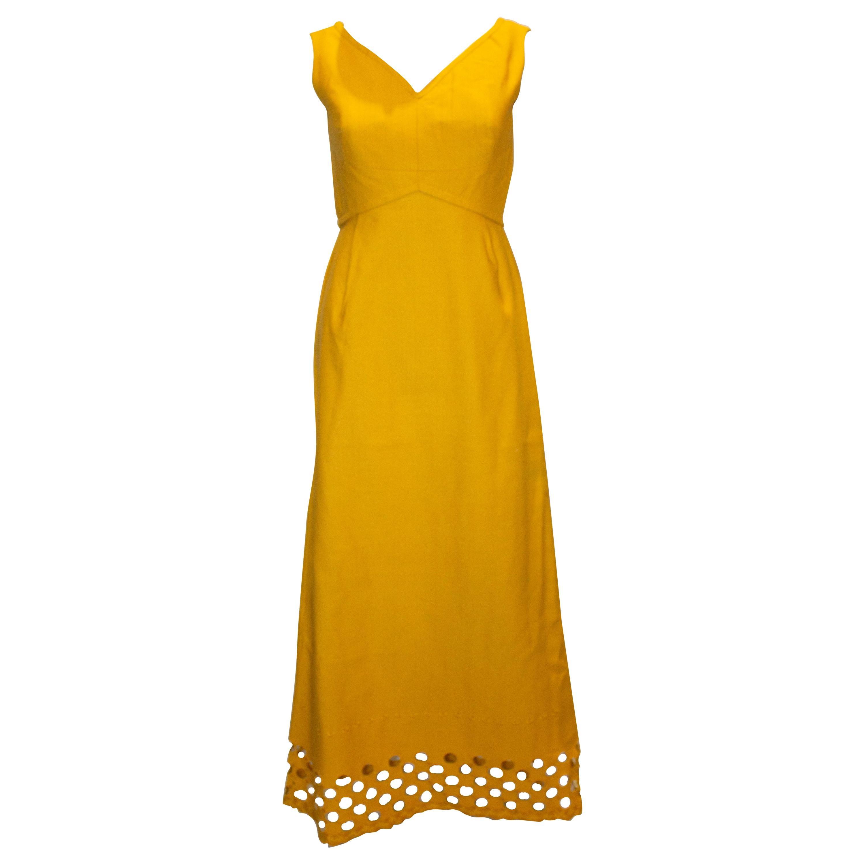 Vintage Susan Small Evening Dress with Detail at Hem