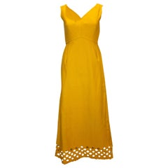 Vintage Susan Small Evening Dress with Detail at Hem