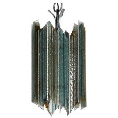 Vintage Suspended Lamp, Poliarte, Italy, 1970s
