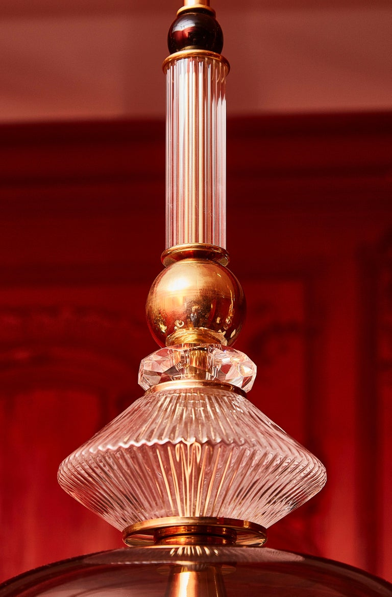 Vintage Suspension in Murano Glass In Excellent Condition For Sale In Saint-Ouen (PARIS), FR