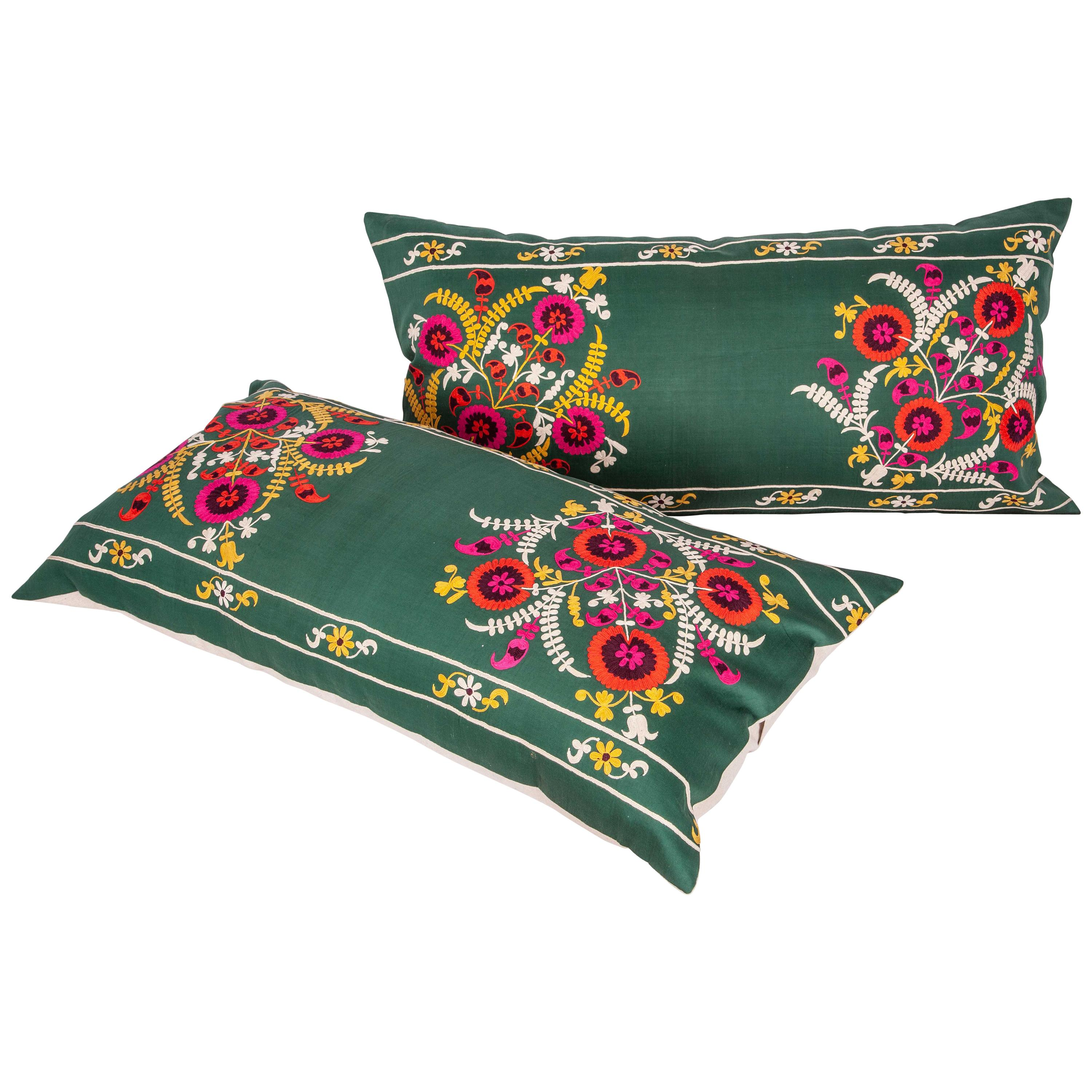 Vintage Suzani Pillow Case, Cuhion Cover, Mid-20th Century