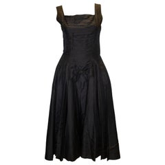 Vintage Suzy Perette Black Cocktail Dress