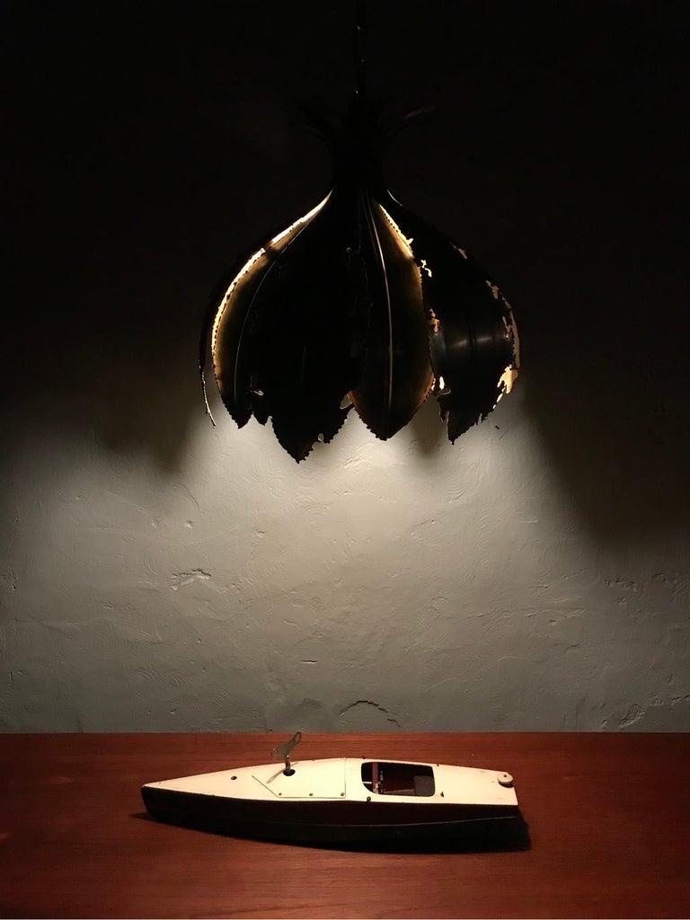 Vintage Svend Aage Holm Sørensen Chandelier Pendant Lamp For Sale 2