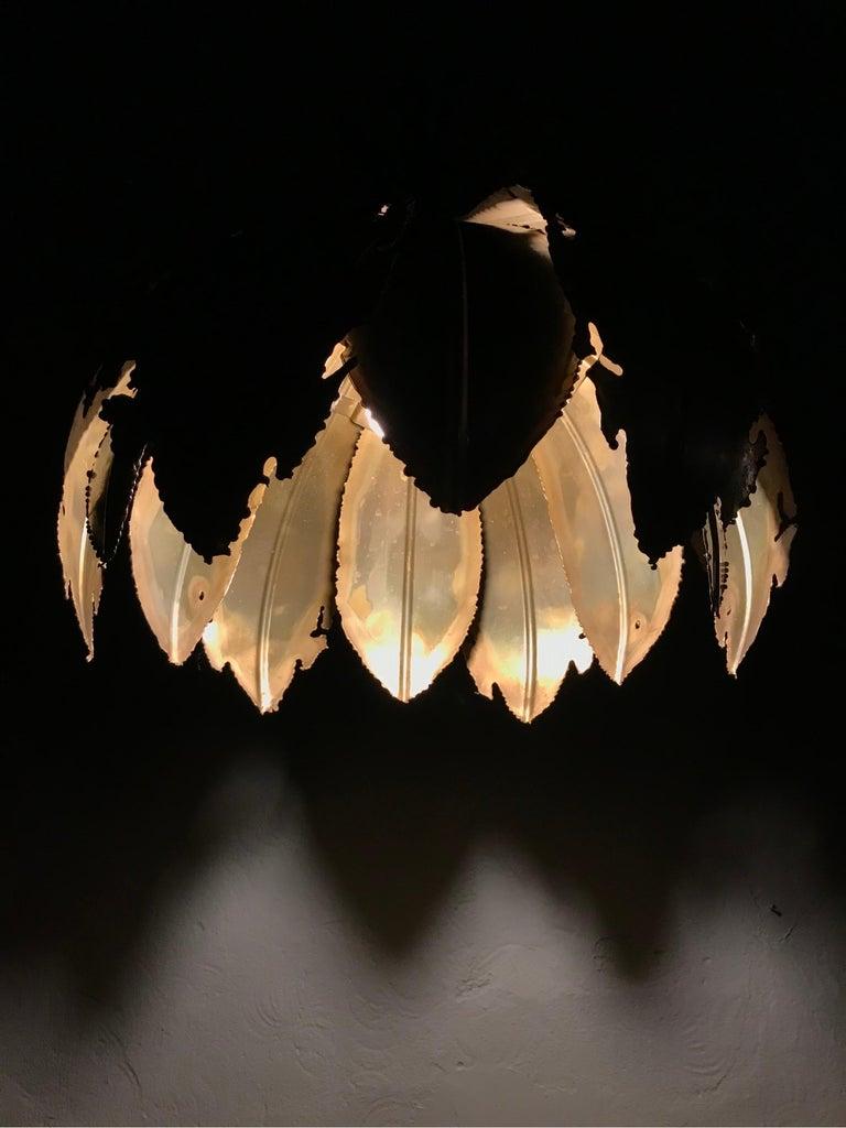Vintage Svend Aage Holm Sørensen Chandelier Pendant Lamp For Sale 3