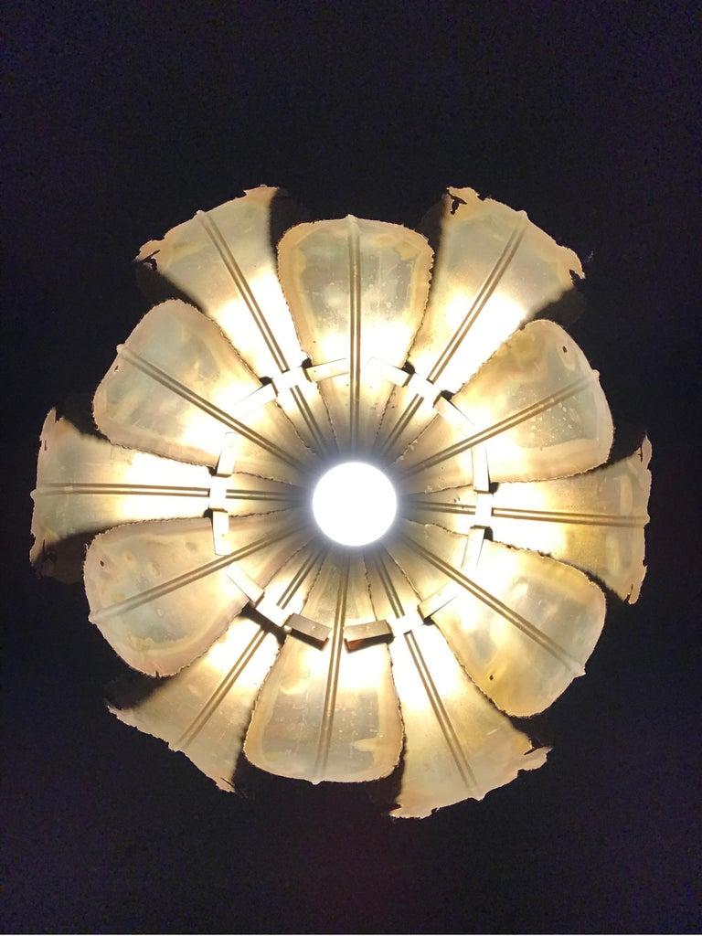 Vintage Svend Aage Holm Sørensen Chandelier Pendant Lamp For Sale 4