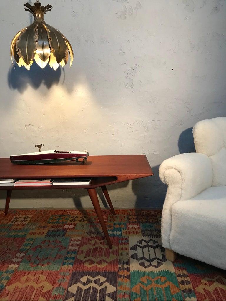 Mid-20th Century Vintage Svend Aage Holm Sørensen Chandelier Pendant Lamp For Sale