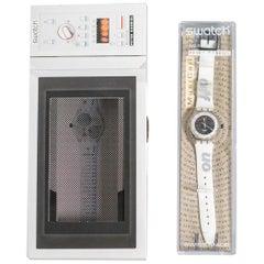Vintage Swatch SLK114 Time to Cook Year 1997 Original Box