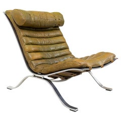 Vintage Swedish Ari Lounge Chair by Arne Norell for Norell Möbel, 1970s