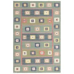 Vintage Swedish Carpet by Marta Maas-Fjetterström