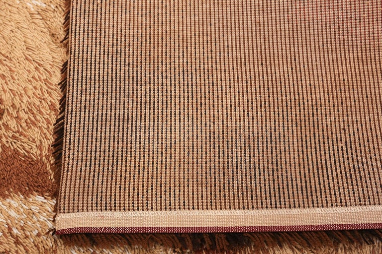 Vintage Swedish Deco Rug. Size: 8 ft 2 in x 11 ft (2.49 m x 3.35 m) For Sale 3