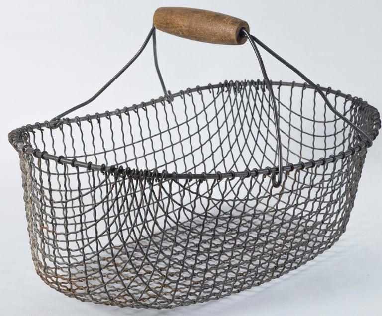 Vintage Swedish Market Baskets, circa 1920 For Sale 1