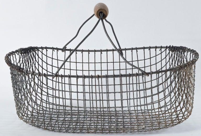 Vintage Swedish Market Baskets, circa 1920 For Sale 3