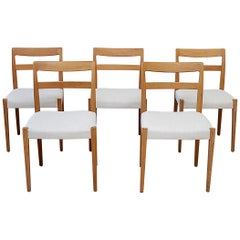 Vintage Swedish Modern Dining Chairs by Troed Bjarnum