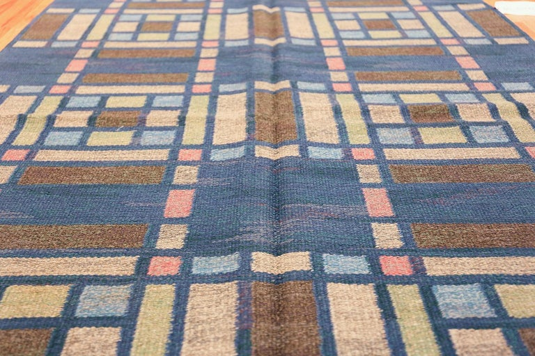20th Century Vintage Swedish Rug For Sale