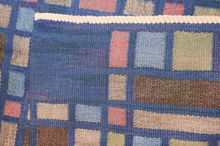 Vintage Swedish Rug For Sale 1