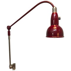 "Vintage Swedish Triplex ""Lill Pendel"" Table Work Lamp from the 1950s"