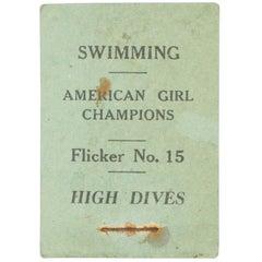 Vintage, Swimming Flicker Book No.15 High Dives