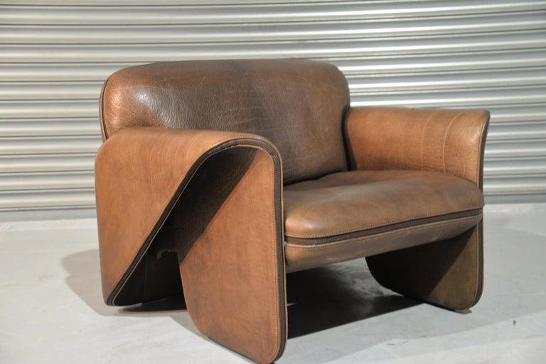 Vintage De Sede 'DS 125' Sofa and Armchair by Gerd Lange, Switzerland 1978 For Sale 3