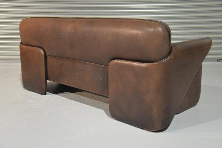 Vintage De Sede 'DS 125' Sofa and Armchair by Gerd Lange, Switzerland 1978 For Sale 8