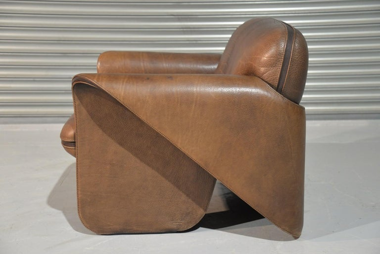 Late 20th Century Vintage De Sede 'DS 125' Sofa and Armchair by Gerd Lange, Switzerland 1978 For Sale