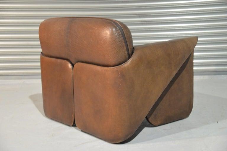 Vintage De Sede 'DS 125' Sofa and Armchair by Gerd Lange, Switzerland 1978 For Sale 1
