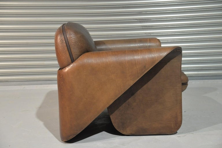Vintage De Sede 'DS 125' Sofa and Armchair by Gerd Lange, Switzerland 1978 For Sale 2