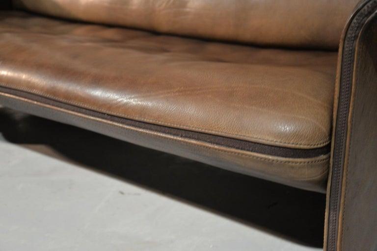 Vintage De Sede 'DS 125' Sofa Designed by Gerd Lange, Switzerland 1978 For Sale 10