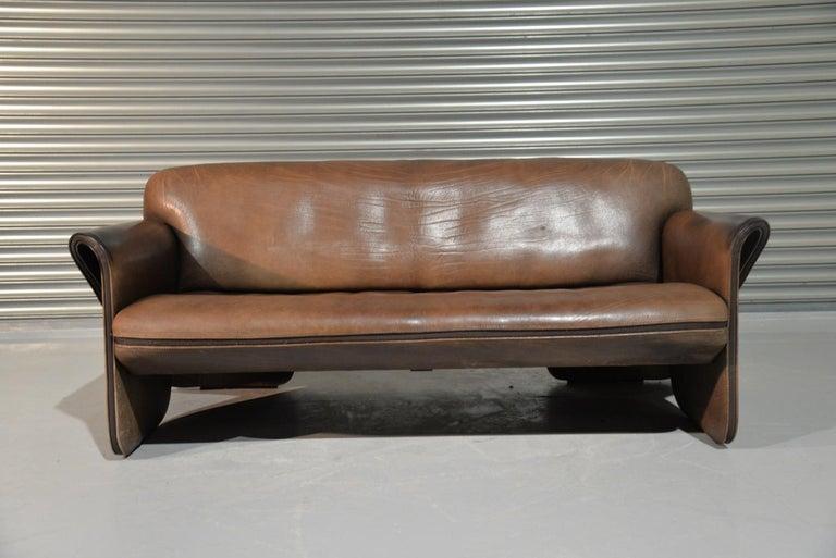 Mid-Century Modern Vintage De Sede 'DS 125' Sofa Designed by Gerd Lange, Switzerland 1978 For Sale